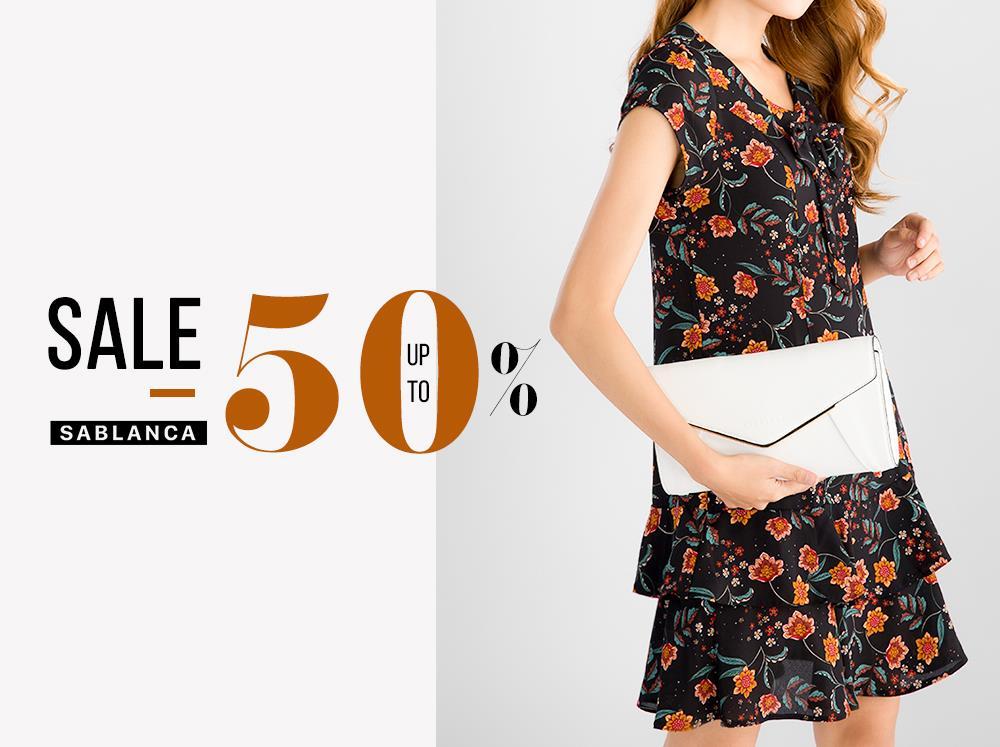 sablanca-end-of-season-sale-up-to-50%-sablanca-takashimaya