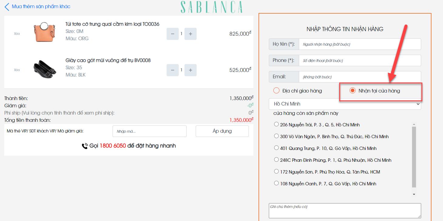 Huong-dan-dat-hang-Online-va-nhan-tai-cua-hang-tren-Website-SABLANCA