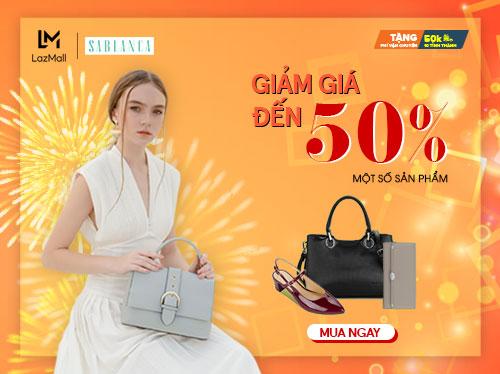 sablanca-mall-giam-gia-den-50%-tren-lazada