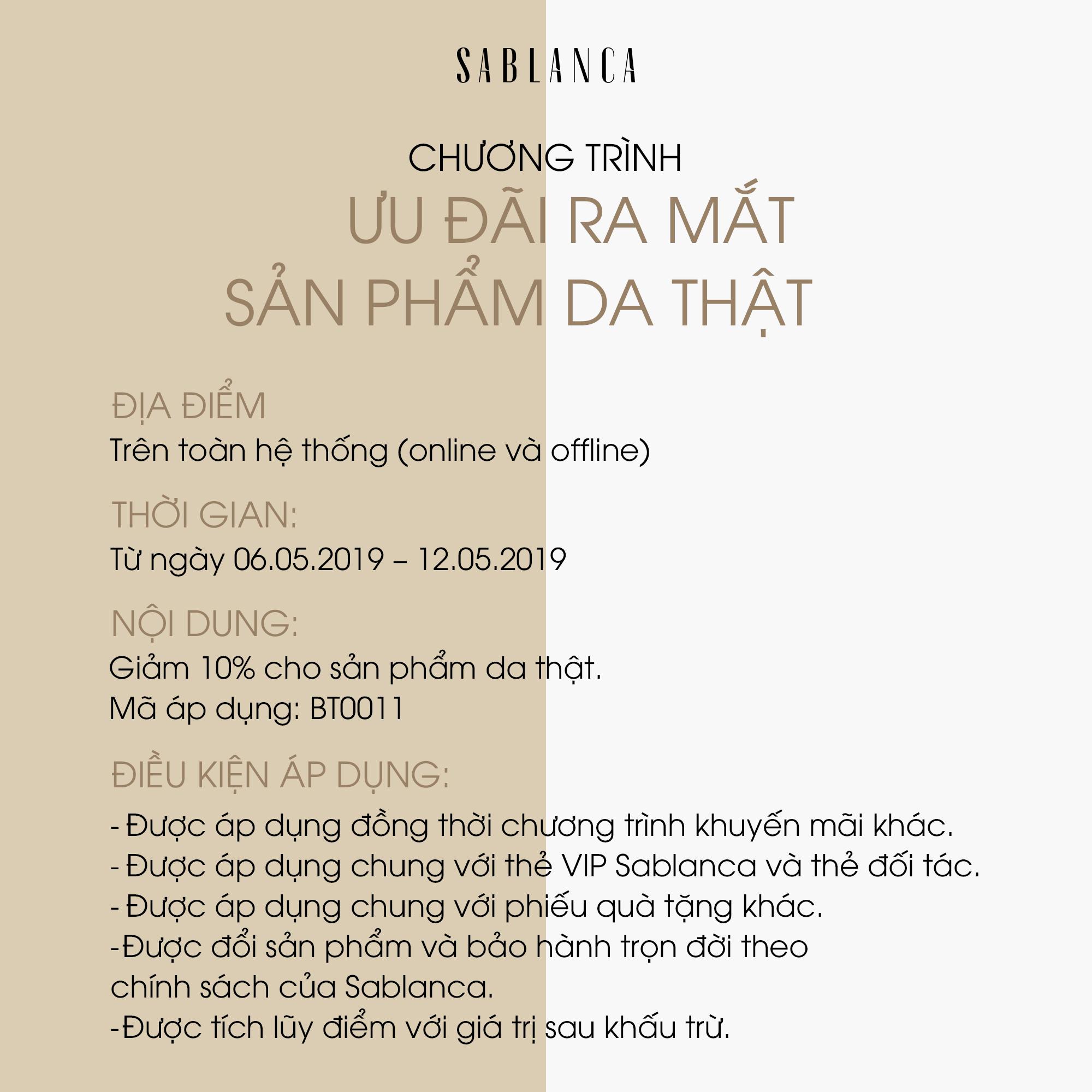 sablanca-dieu-kien-ap-dung-khuyen-mai-giay-da-dau-tien