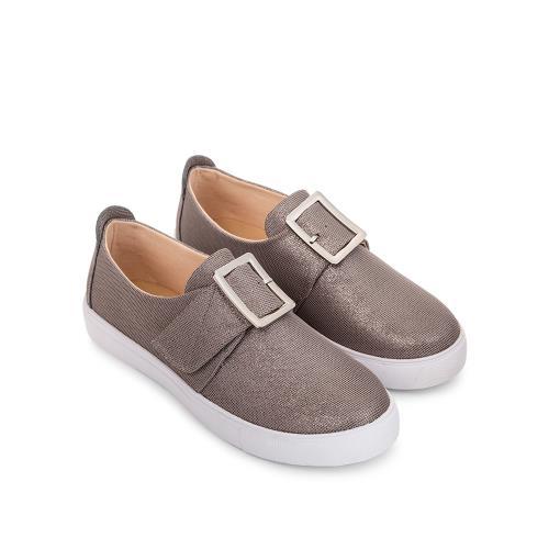 Giày Bata nữ  khóa kim loại