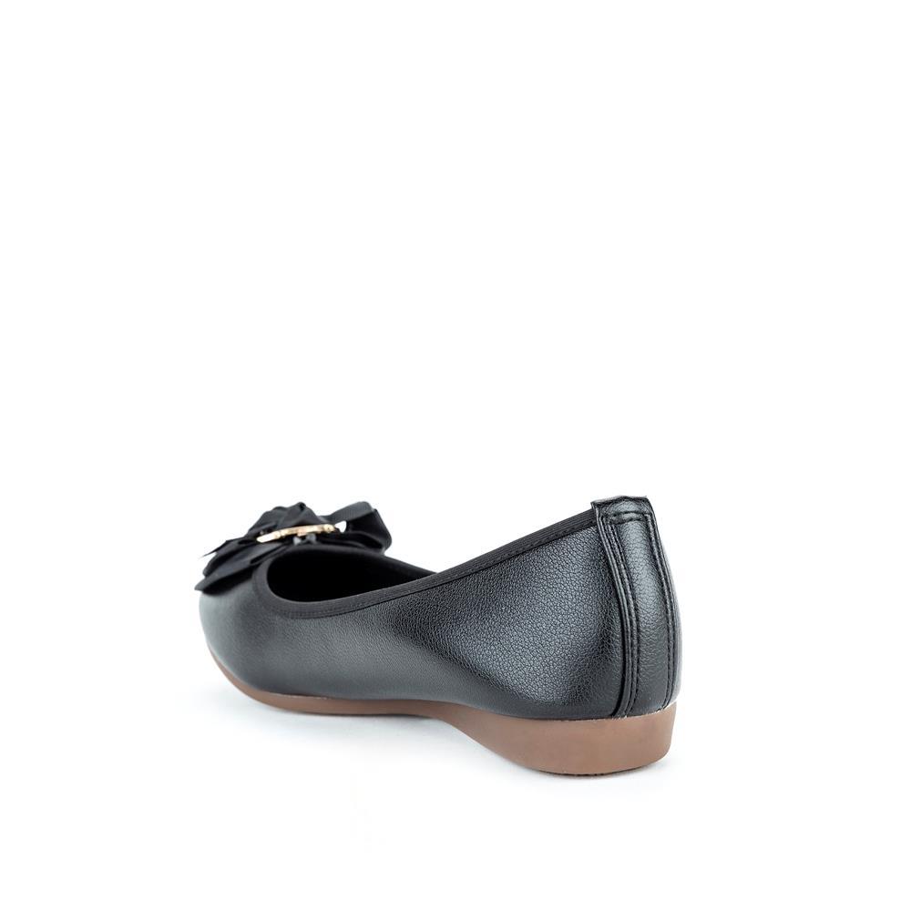 Giày búp bê phối nơ vải BB0040