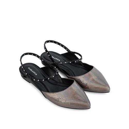 Giày búp bê quai đính đá BB0044