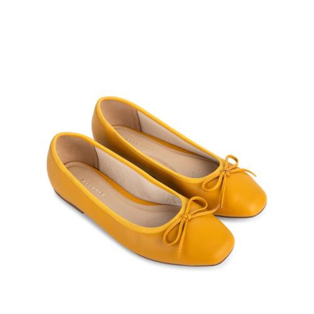 Giày búp bê phối nơ mảnh BB0046