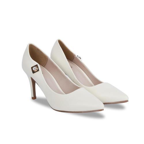 Giày cao gót mũi nhọn da mờ BN0065