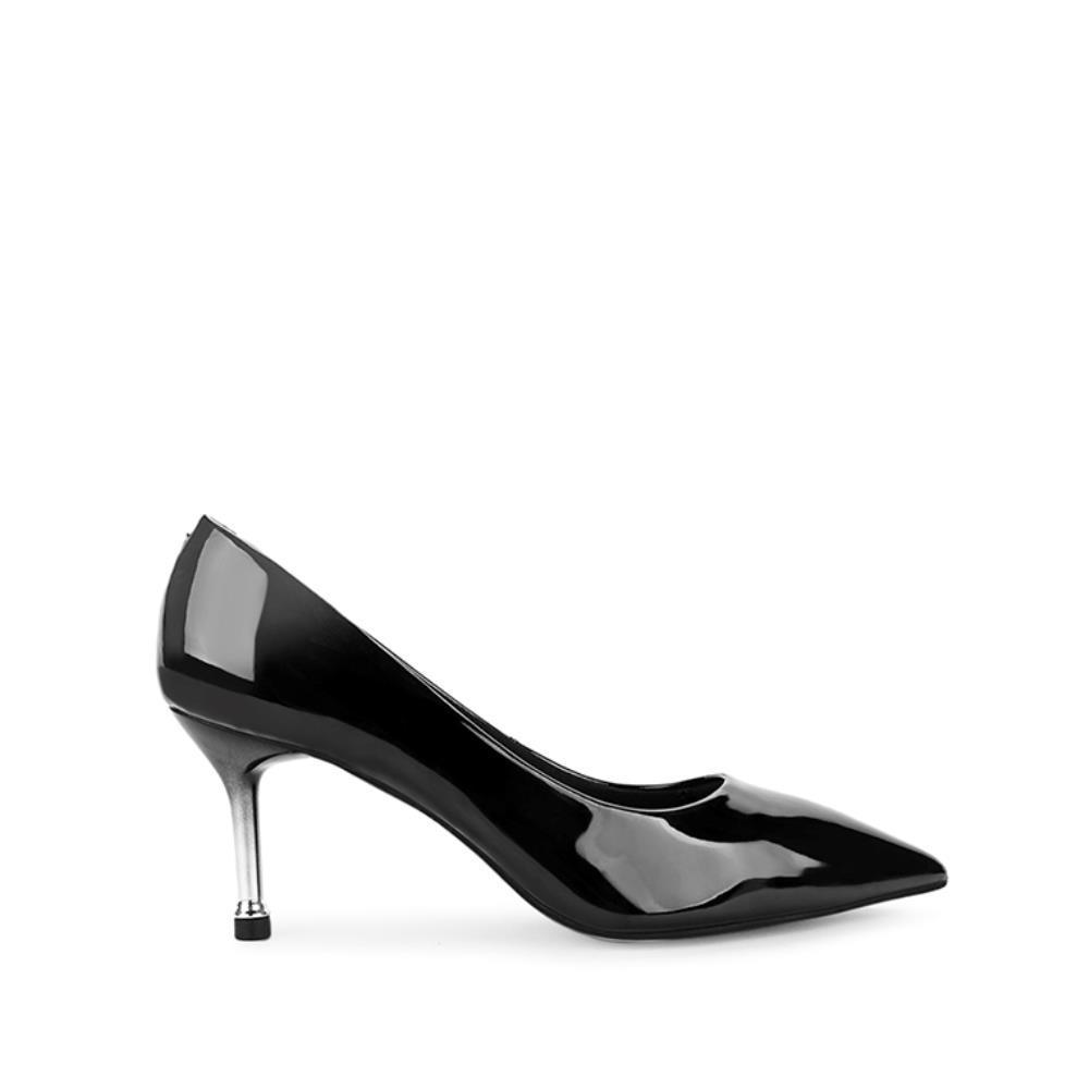 Giày cao gót mũi nhọn da bóng BN0091