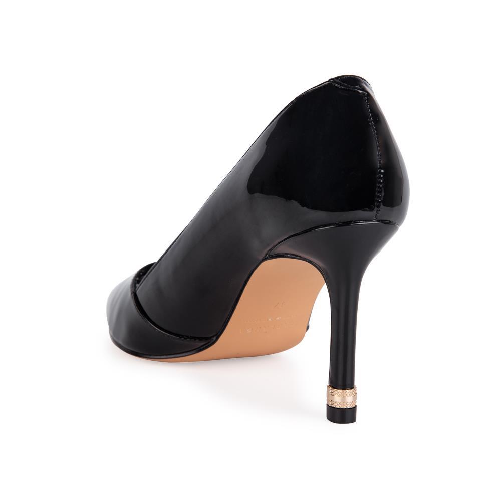 Giày cao gót mũi nhọn da bóng BN0137