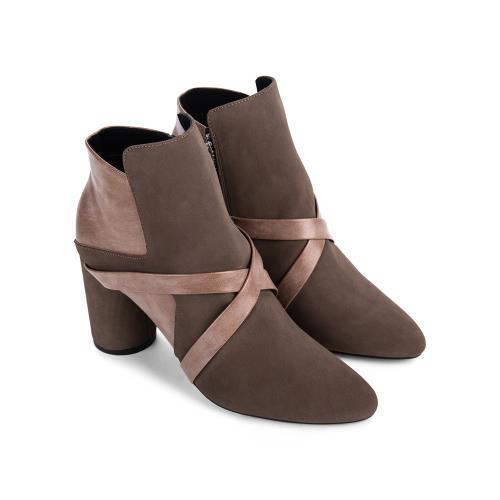 Giày boot nữ cổ cao 0002