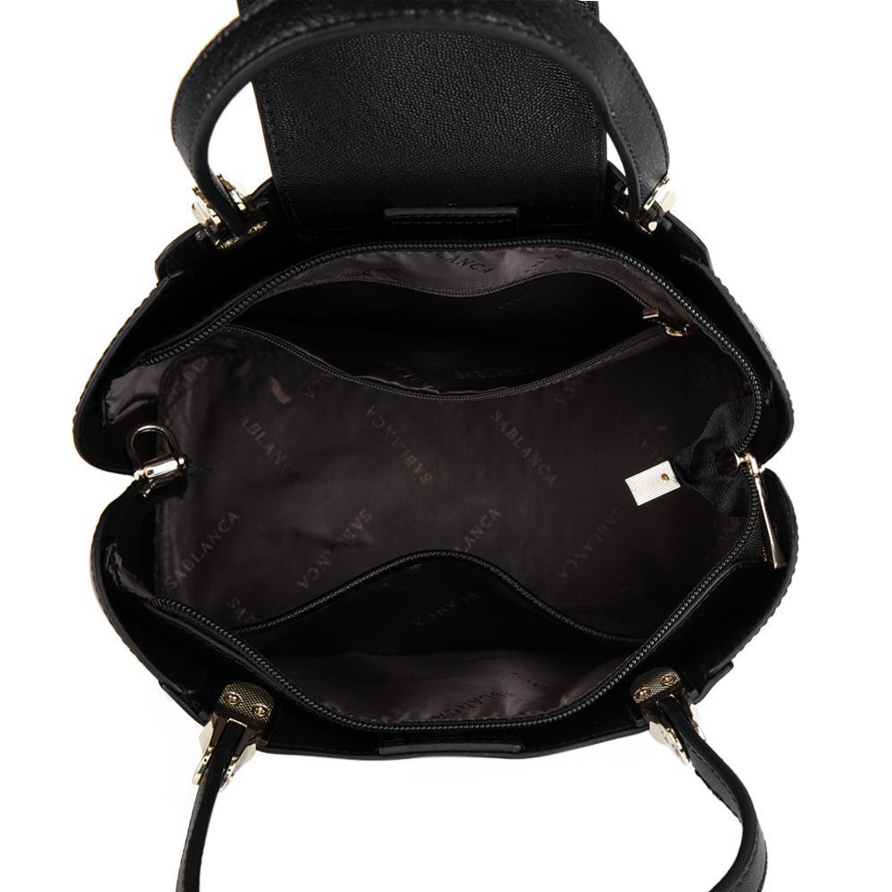 Túi xách tay đính khóa tròn tran trí HB0085