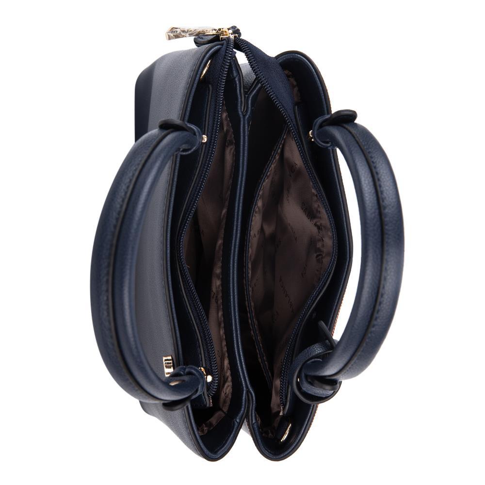 Túi xách tay viền chỉ nổi HB0088