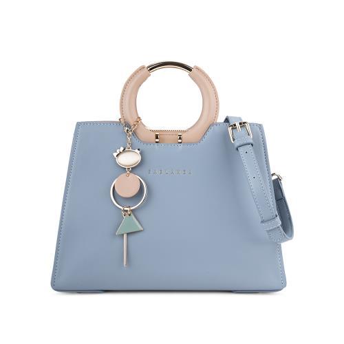 Túi xách tay quai tròn phối metallic  HB0102