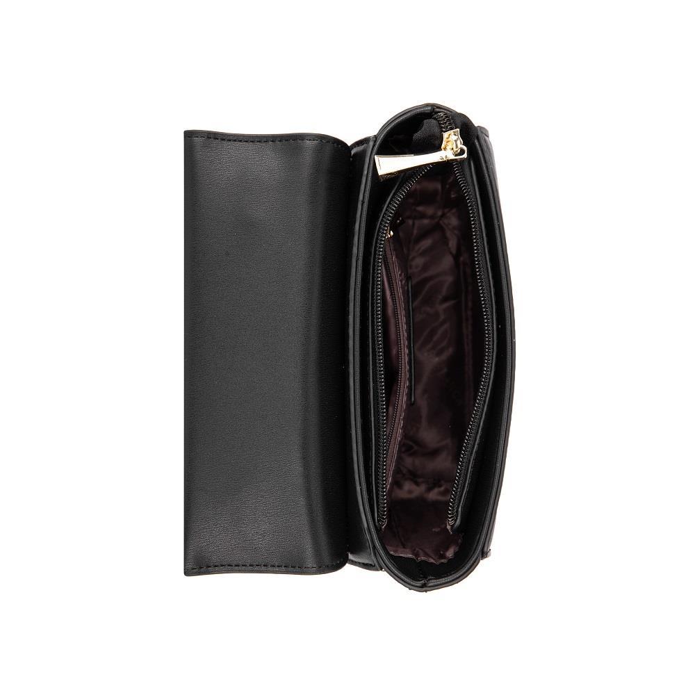Túi xách tay nắp gập phối họa tiết caro SA0006