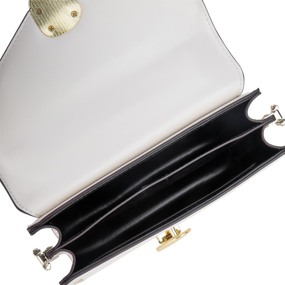 Túi xách tay nắp gập quai cầm kim loại SA0020