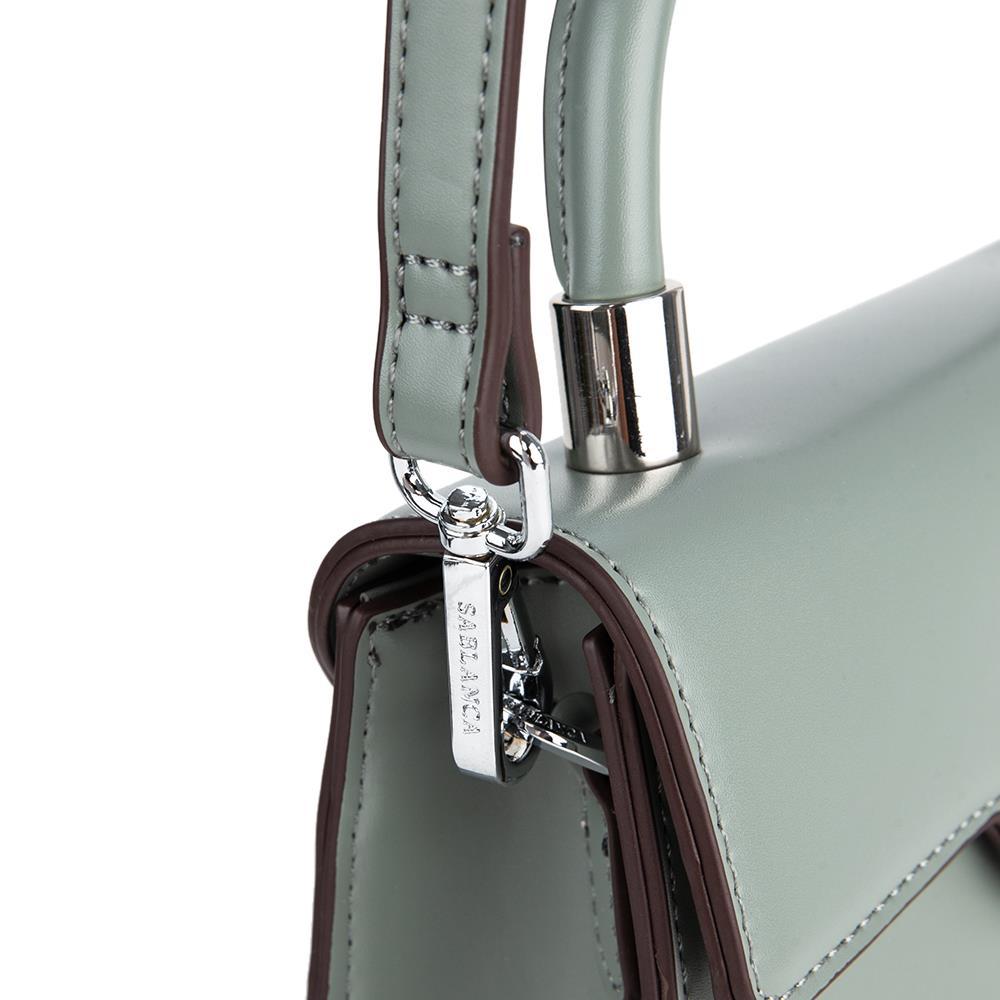 Túi xách tay nắp gập khóa kim loại SA0026