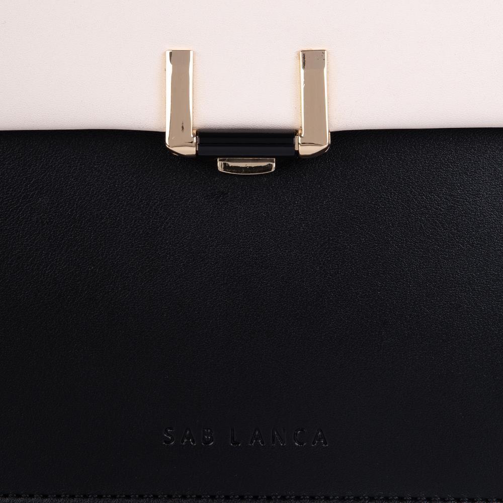Túi xách tay phối 2 tone màu SA0034