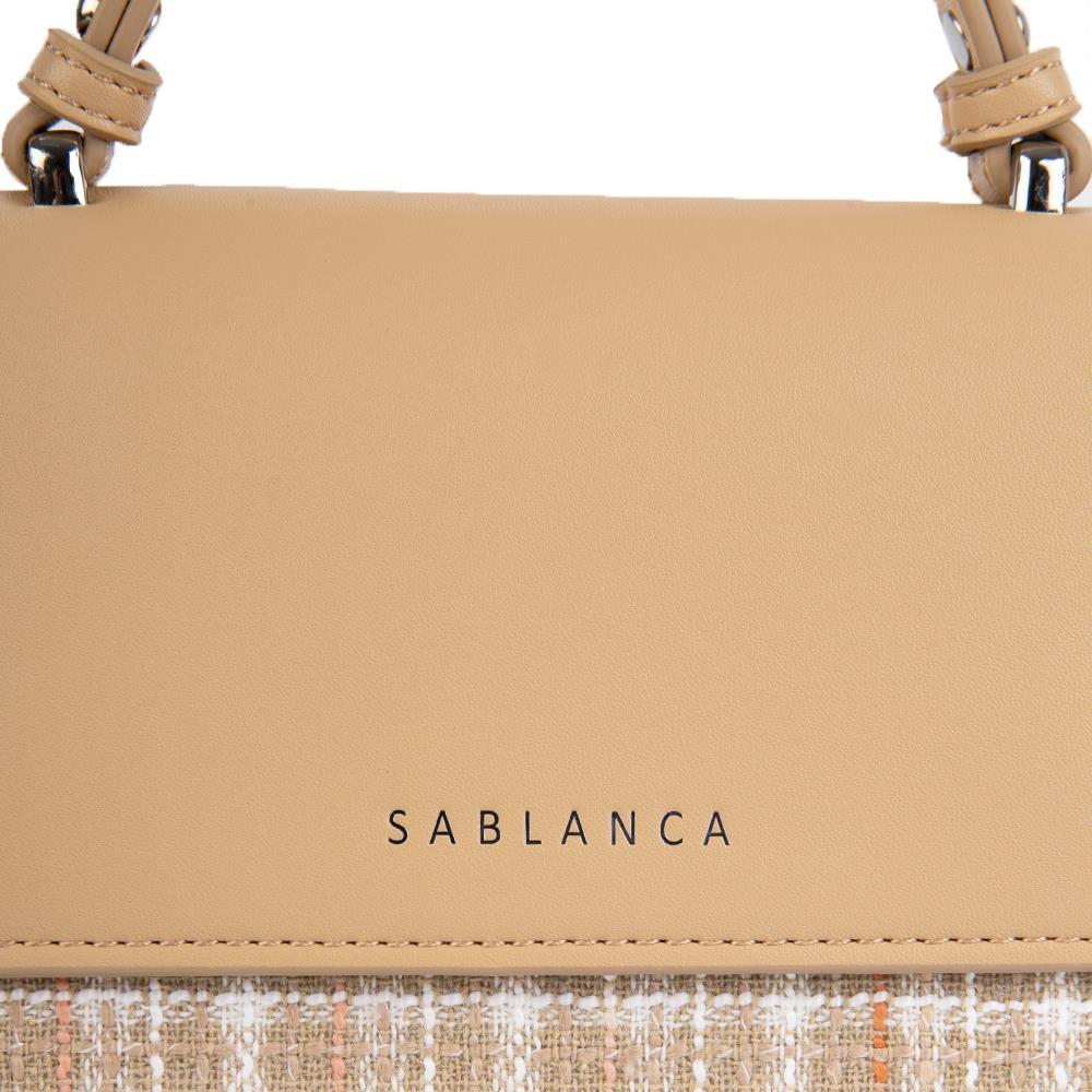 Túi xách tay phối họa tiết caro SA0036