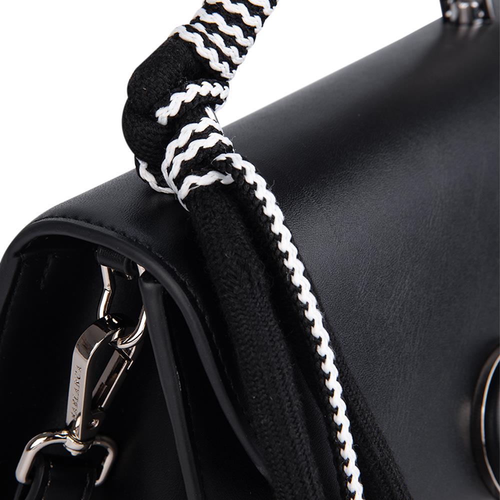 Túi xách tay quai cầm phối vải SA0038