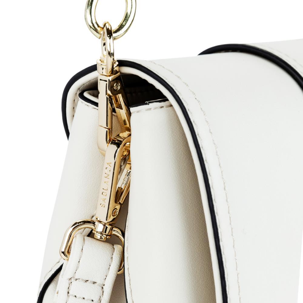 Túi đeo chéo phối khóa nịt bản to SD0034