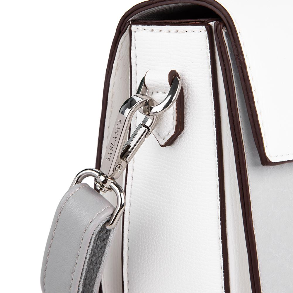 Túi đeo chéo phối khóa tròn bản to SD0054