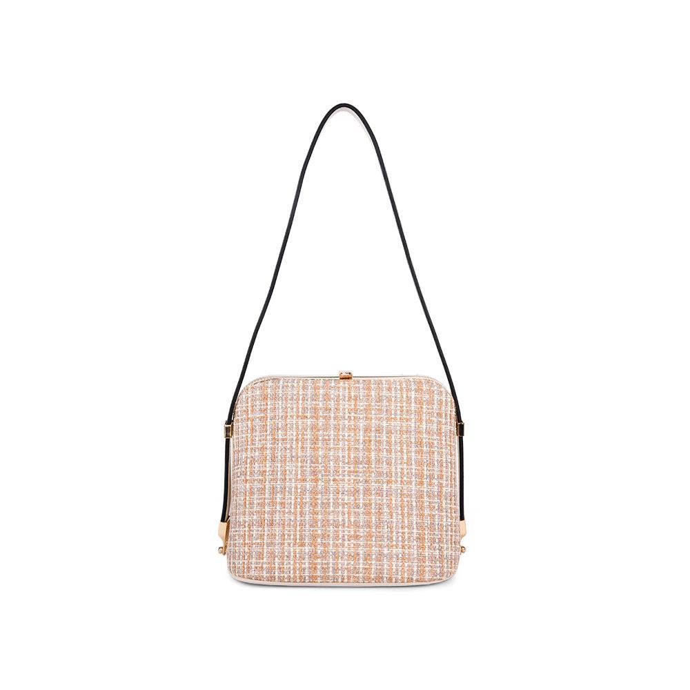 Túi đeo chéo phối vải tweed  SD0062