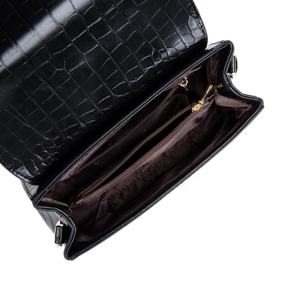 Túi đeo chéo vân da cá sấu SD0068