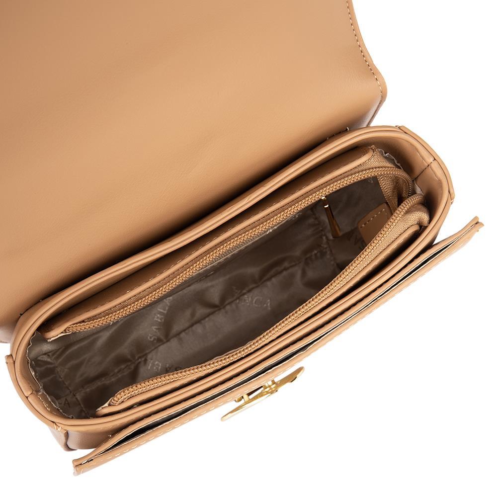 Túi đeo chéo hình bán nguyệt khóa kim loại SD0072