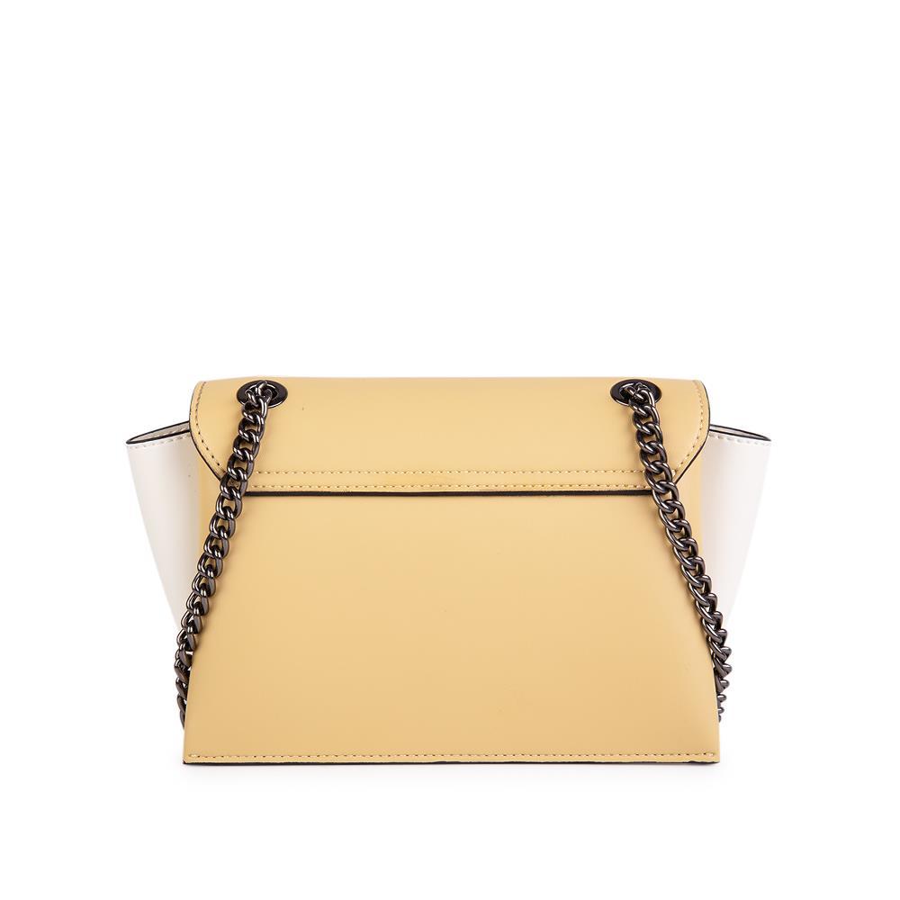 Túi đeo chéo nắp gập phối 2 tone màu SD0088