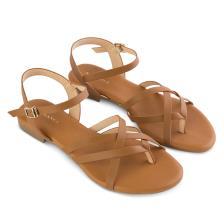 Giày Sandal đế bệt quai chéo SK0028