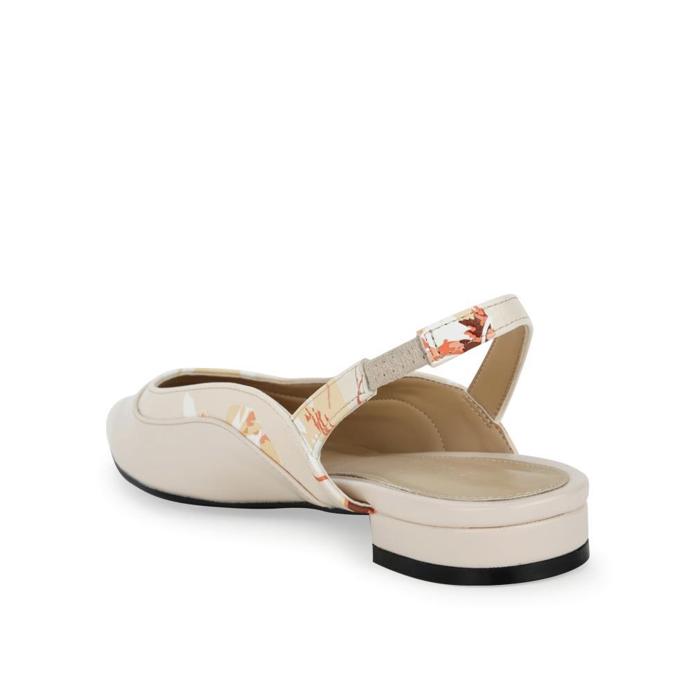 Giày sandal đế bệt viền hoa văn SK0045