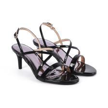 Giày sandal cao gót quai chéo SN0041