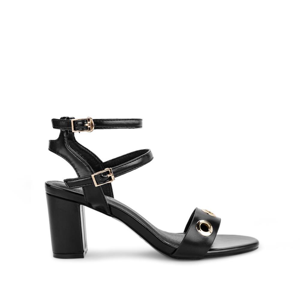 Giày sandal cao gót phối khoen SN0062