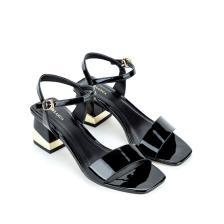 Giày sandal cao gót da bóng SN0069