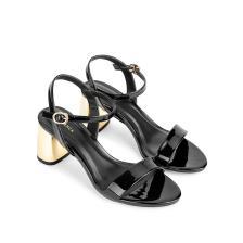 Giày sandal cao gót đế metallic SN0071