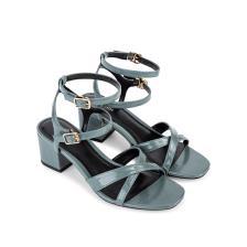 Sandal cao gót quai mảnh đắp chéo SN0077