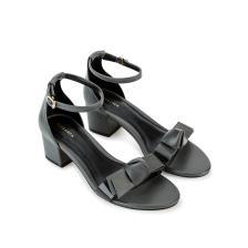 Giày sandal cao gót phối nơ SN0078