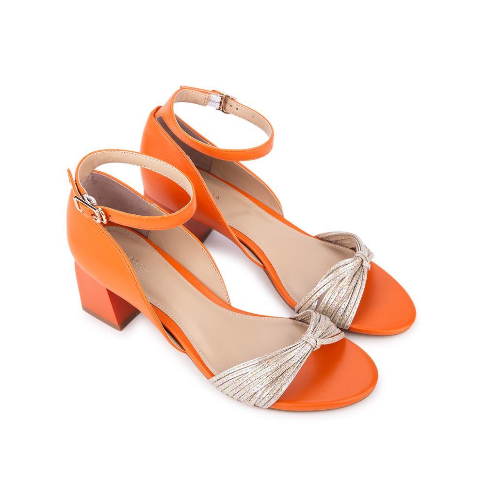 Giày sandal cao gót quai thắt nơ SN0083