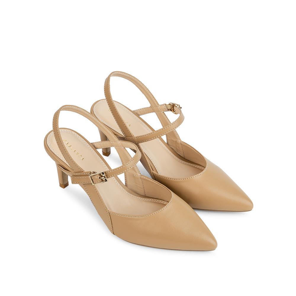 Giày sandal cao gót bít mũi nhọn SN0084