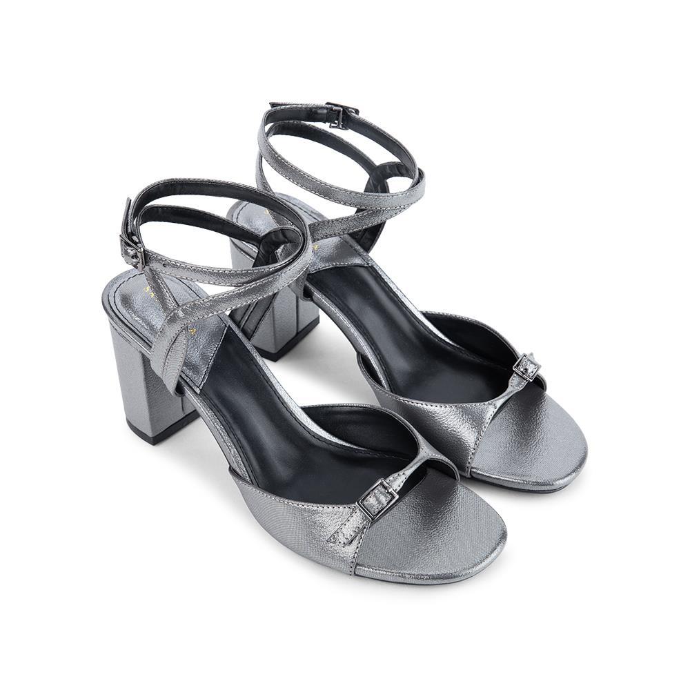 Giày sandal cao gót quai mảnh SN0088