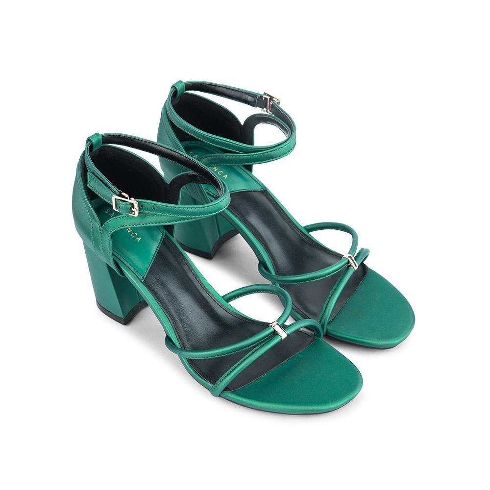 Giày sandal cao gót quai mảnh SN0089