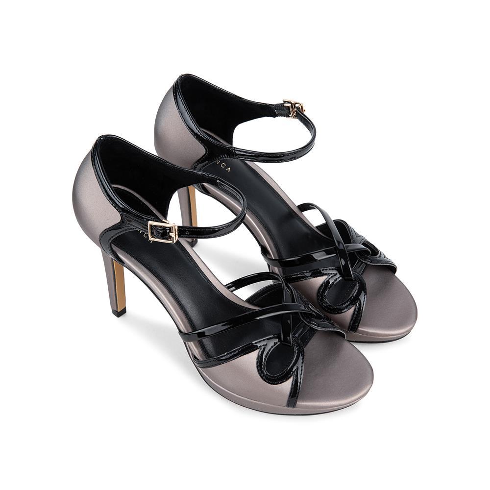 Giày sandal cao gót 10cm quai chéo SN0091