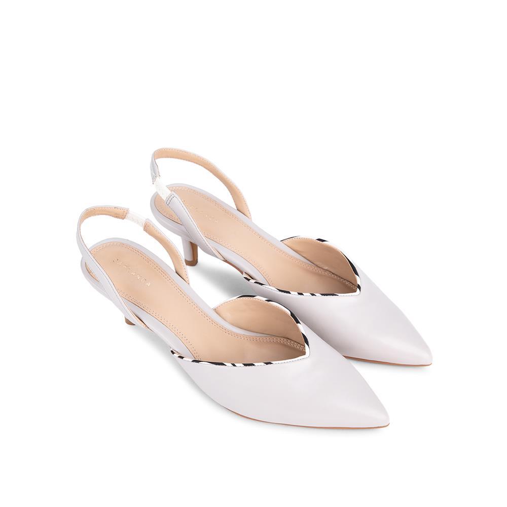 Giày sandal cao gót bít mũi nhọn SN0096