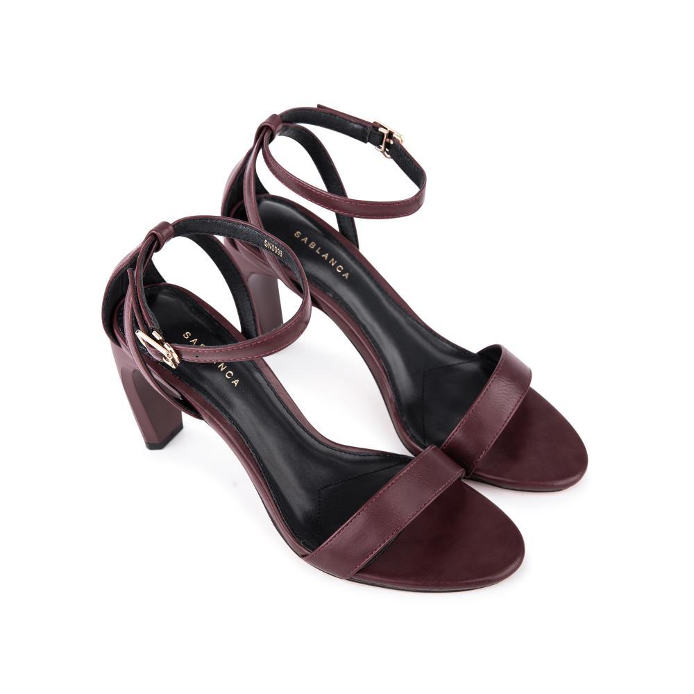 Giày sandal cao gót quai mảnh SN0098