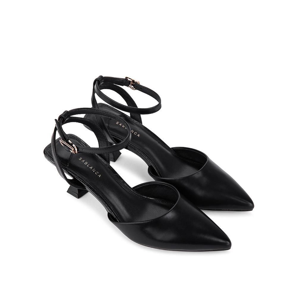 Giày sandal cao gót đế đồng hồ cát  SN0100