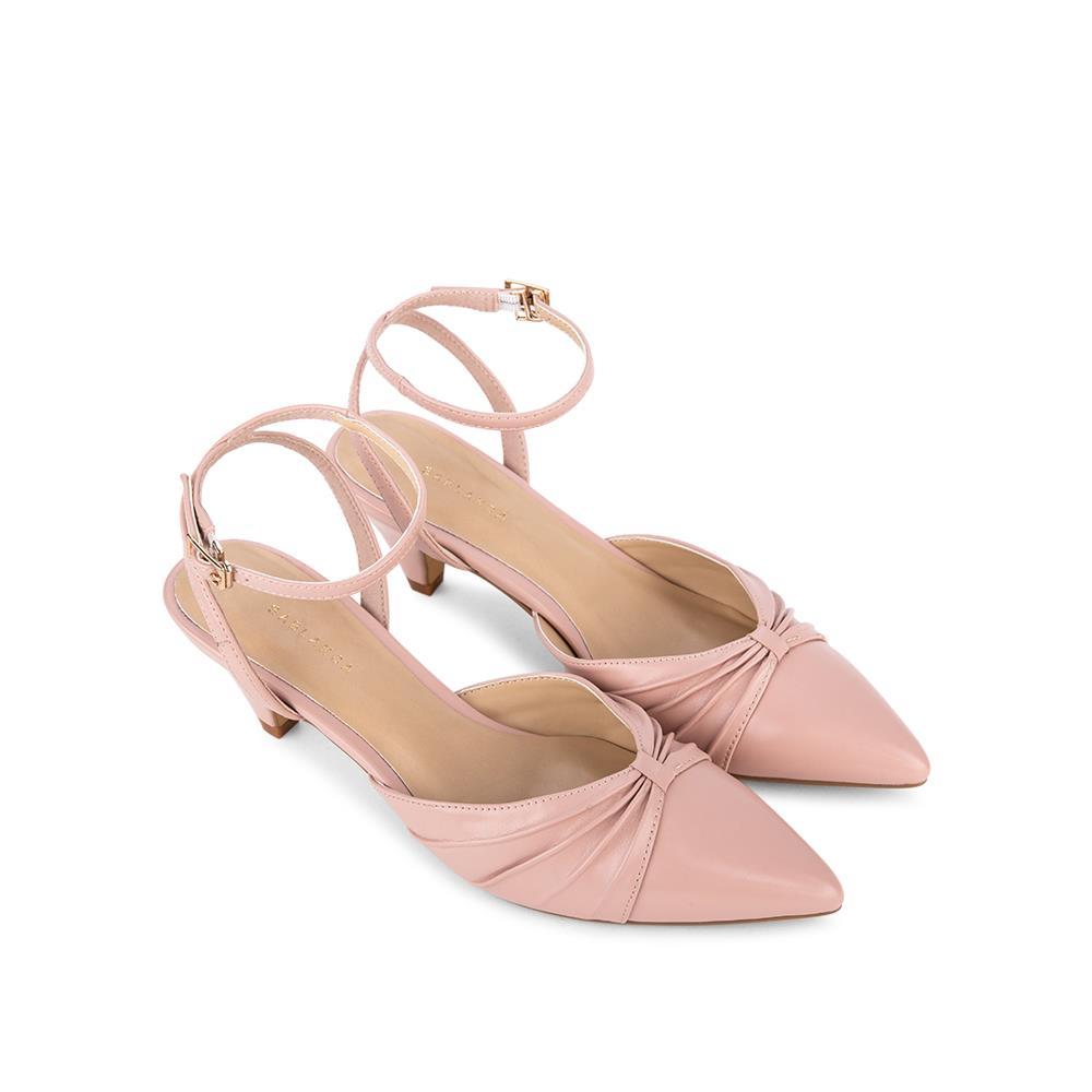 Giày  sandal cao gót quai xếp gấp SN0102