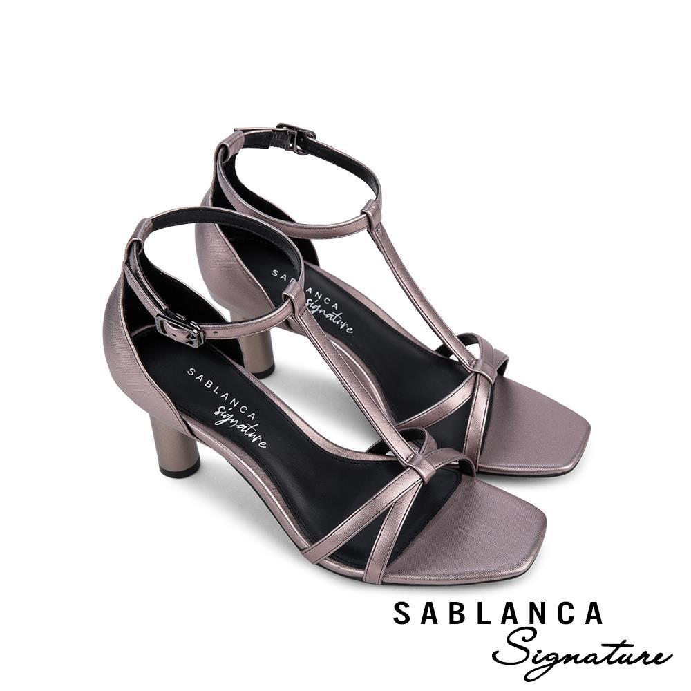 Giày sandal cao gót quai mảnh SN0103