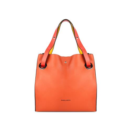 Túi Tote cỡ lớn màu cam TO0024