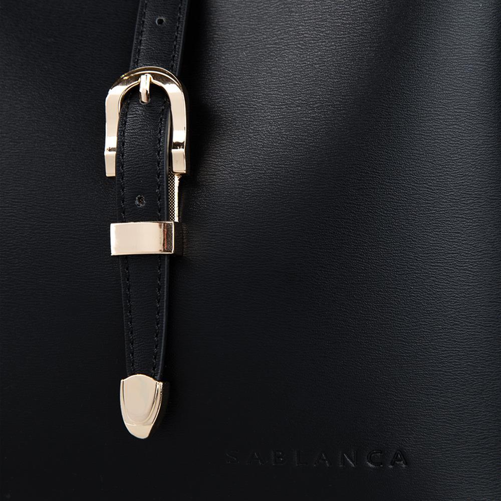 Túi Tote cỡ nhỏ phối khóa nịt TO0028