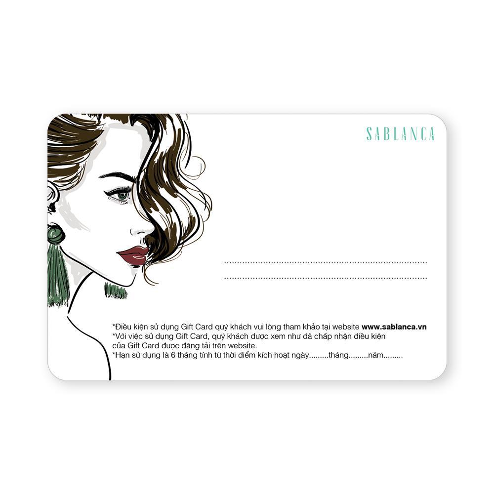 Gift Card Sablanca 200K