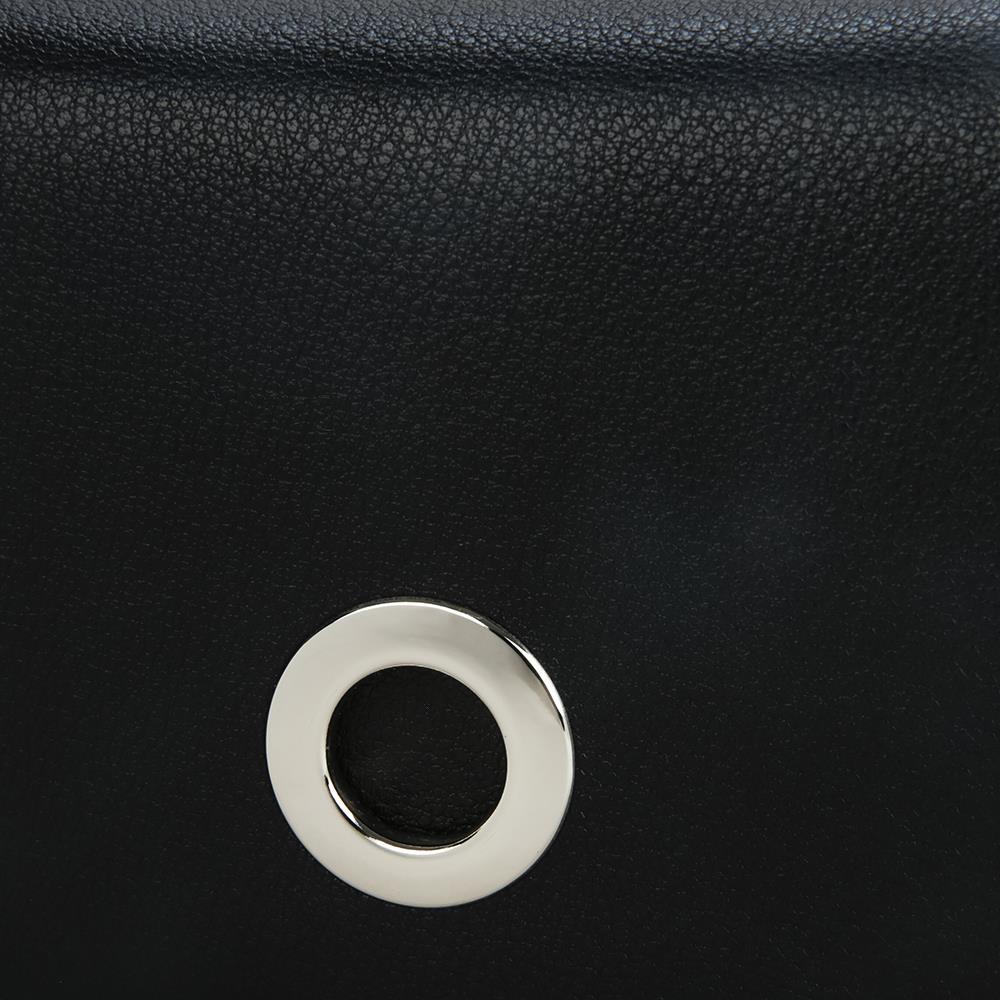 Ví cầm tay khóa kim loại tròn trang trí  WA0101